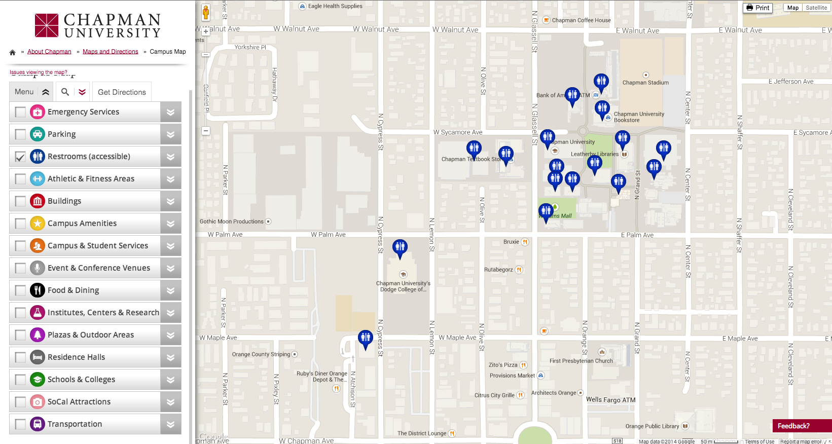 Adding A New Location To The Interactive Campus Map Smc Knowledge Base
